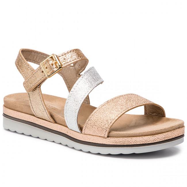 484a26e9821a7 Sandals MARCO TOZZI - 2-28627-22 Rose Met. Comb 532 - Casual sandals ...