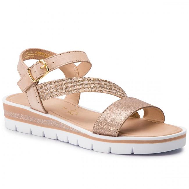 Sandals MARCO TOZZI 2 28636 22 Rose Met. Comb 532