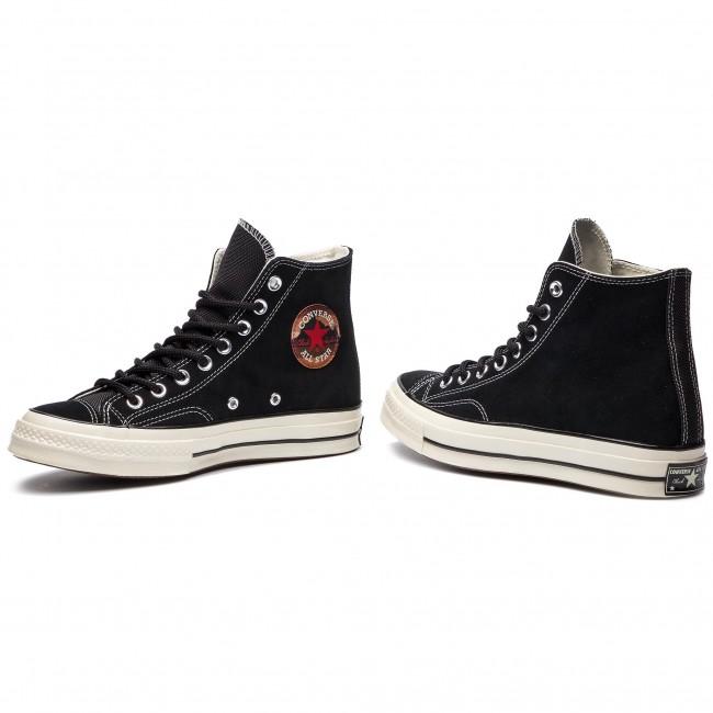 Sneakers CONVERSE Chuck 70 Hi 162373C BlackBlackEgret