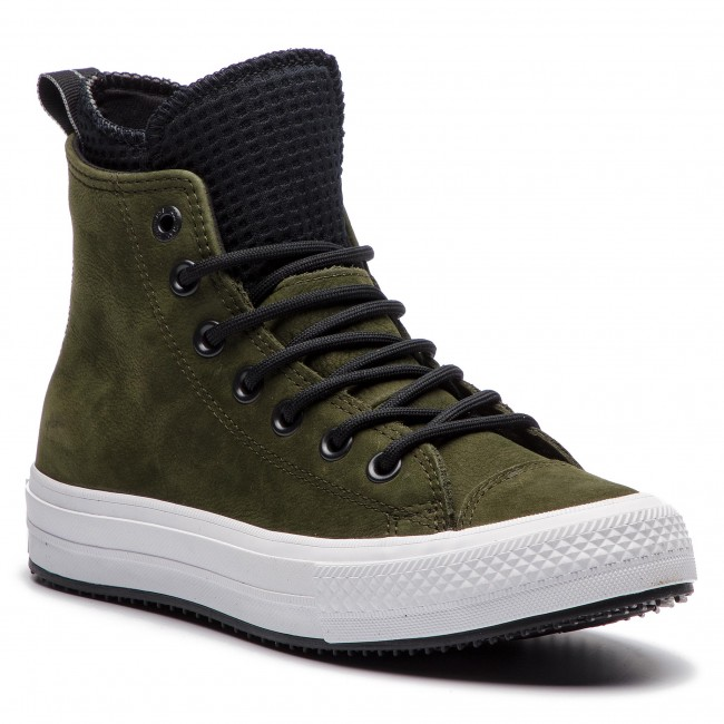 Estable Delgado Indomable  Plimsolls CONVERSE - Ctas Wp Boot Hi 162408C Utility Green/Black/White -  Sneakers - Low shoes - Women's shoes | efootwear.eu