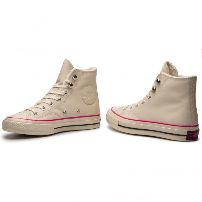Sneakers CONVERSE Chuck 70 Hi 162434C Natural IvoryPink
