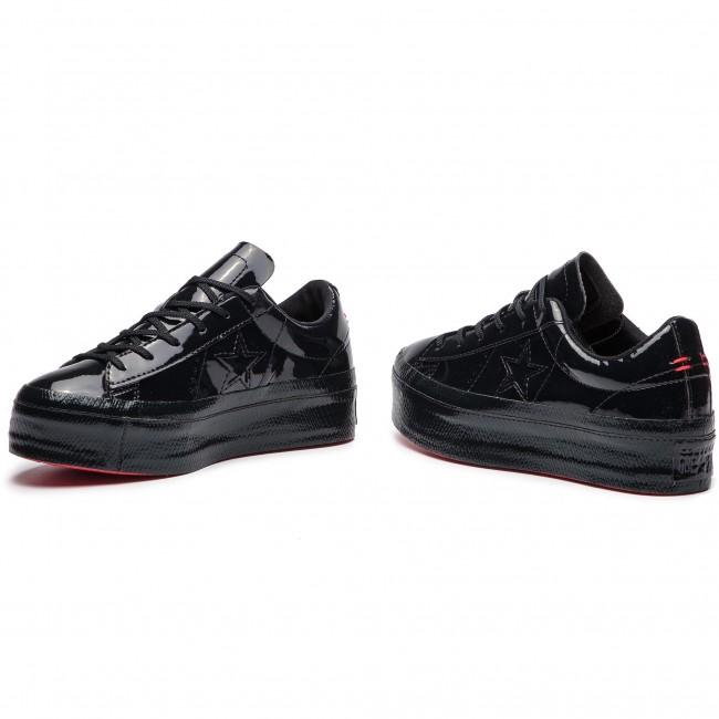 Sneakers CONVERSE One Star Platform Ox 562604C BlackBlackBlack