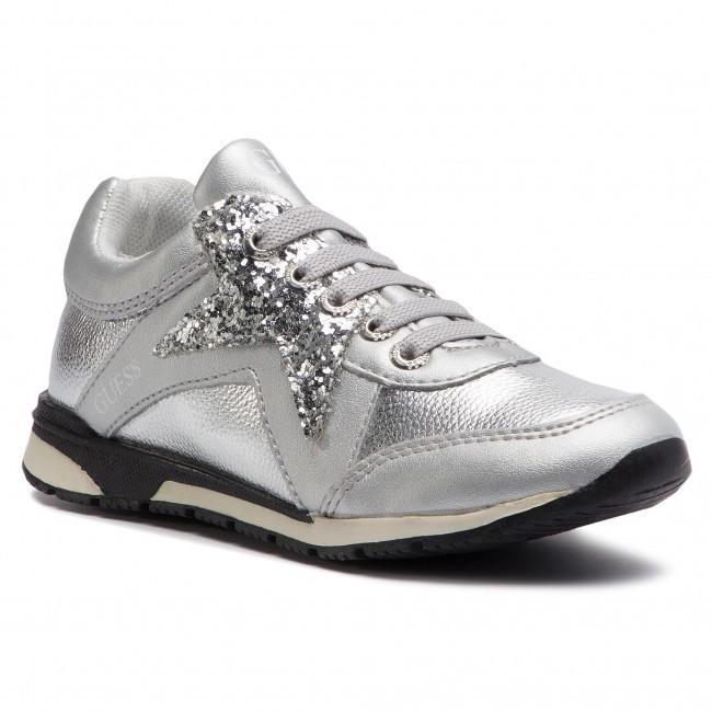 marking Promote Watt  Sneakers GUESS - Litzy FI5LIT ELE12 SILVER - Laced shoes - Low shoes - Girl  - Kids' shoes   efootwear.eu