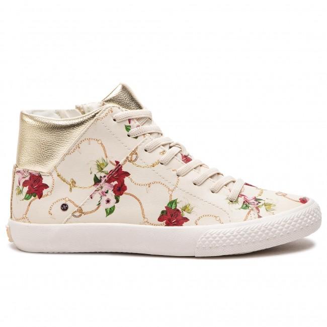 e4536e2f5e Sneakers GUESS - Marty FJ5MAR PEL12 BLANC/WHITE
