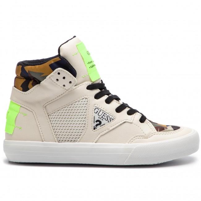f388e71f35 Sneakers GUESS - Jr Bruce FI5BRU ELE12 BLANC/WHITE