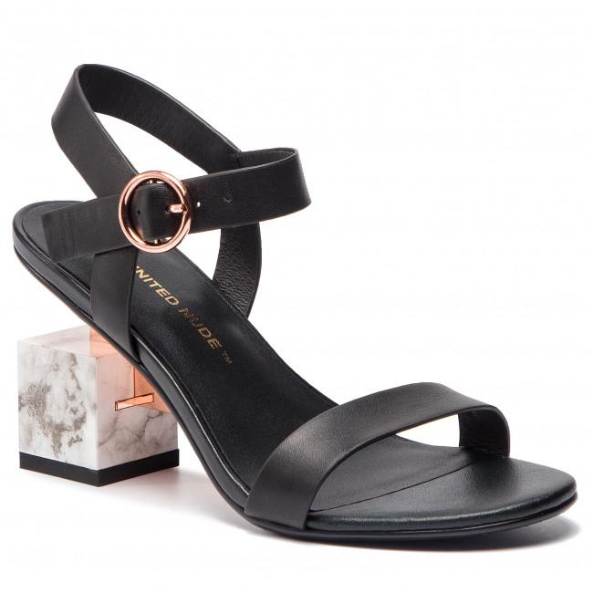 Sandals UNITED NUDE - Cube Sandal Mid 104060127 Black