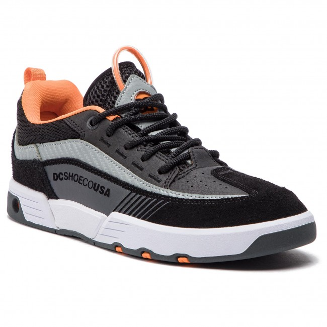c19799c6b0b73d Sneakers DC - Legacy 98 Slim S ADYS100435 Black/Orange/Grey (Xkns) -  Sneakers - Low shoes - Men's shoes - efootwear.eu