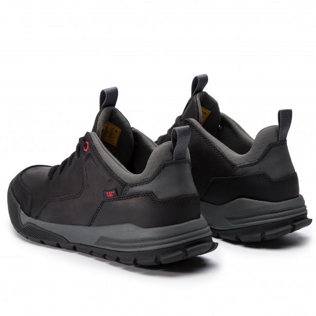 Black Black P722916 Caterpillar Mens Low-Top Sneakers