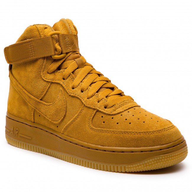 sale retailer 3a44e 9bc2a Shoes NIKE - Air Force 1 High Lv8 (GS) 807617 701 Wheat Wheat