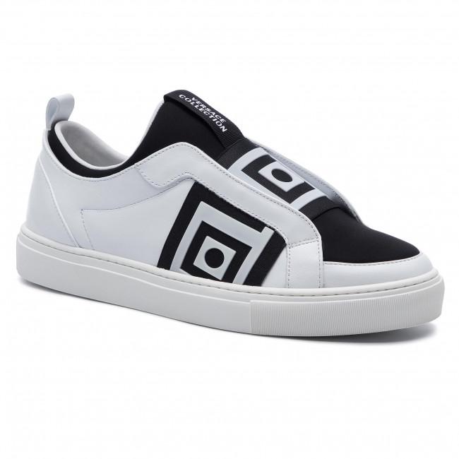 Sneakers VERSACE COLLECTION - V900742 VM0463 V874 Bianco/Nero