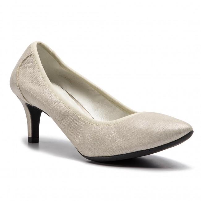 Shoes GEOX D Elina B D72P8B 000SK CB500 Champagne