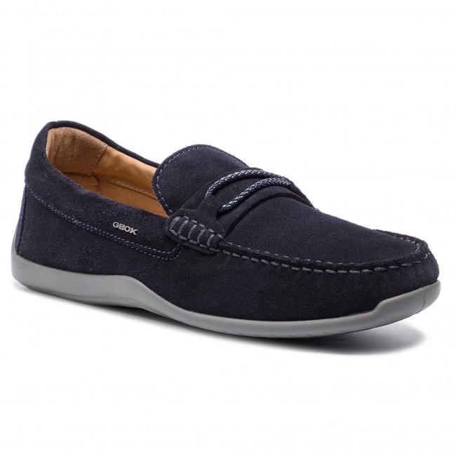 Intercambiar Consulado consenso  Moccasins GEOX - U Xense Mox C U62D3C 00022 C4002 Navy - Moccasins - Low  shoes - Men's shoes | efootwear.eu