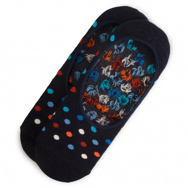 Unisex Footsies HAPPY SOCKS - DOT06-6000 Colourful Navy Blue