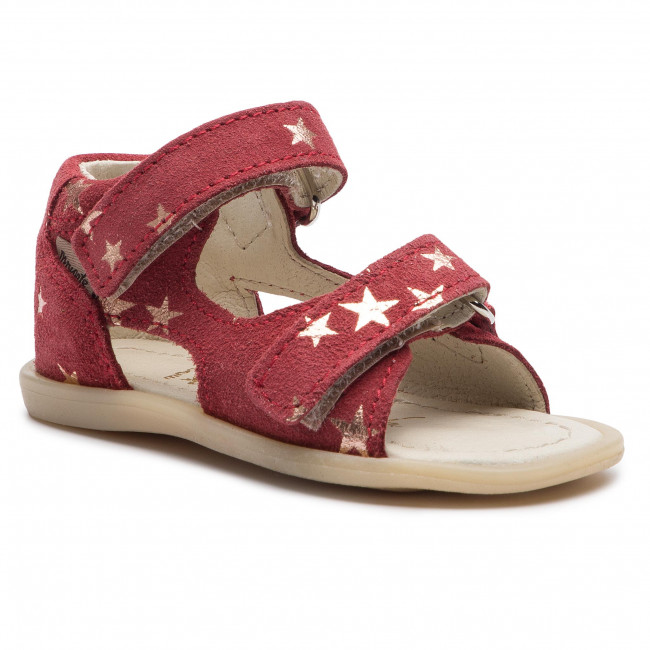 Sandals MRUGAŁA - Flo 1105/9-23 Rubby Stars