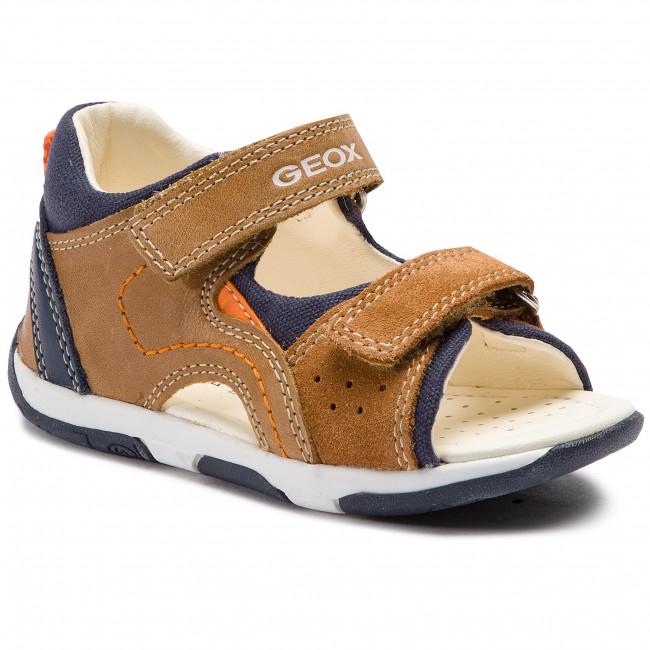 Sandals GEOX B S.Tapuz B. B B920XB 0CL22 C5GF4 M CarmelNavy