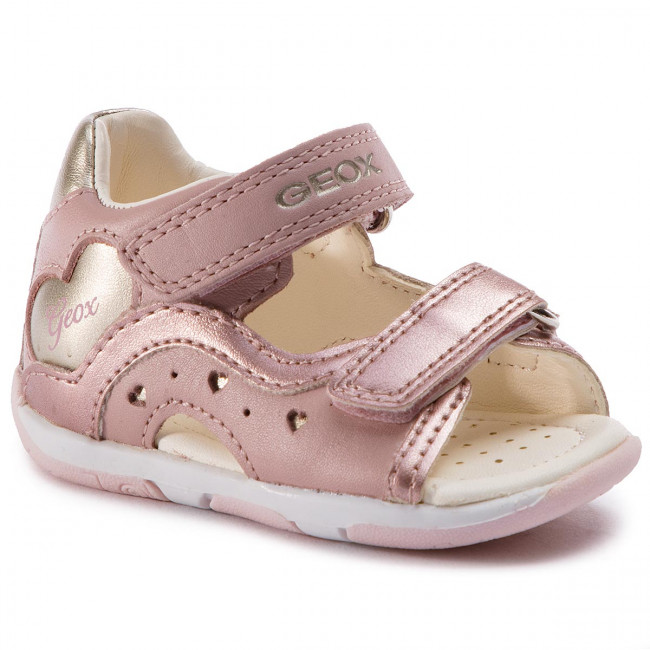 uk availability classic website for discount Sandals GEOX - B S.Tapuz G. C B920YC 044AJ C8252 M Dk Rose/Gold