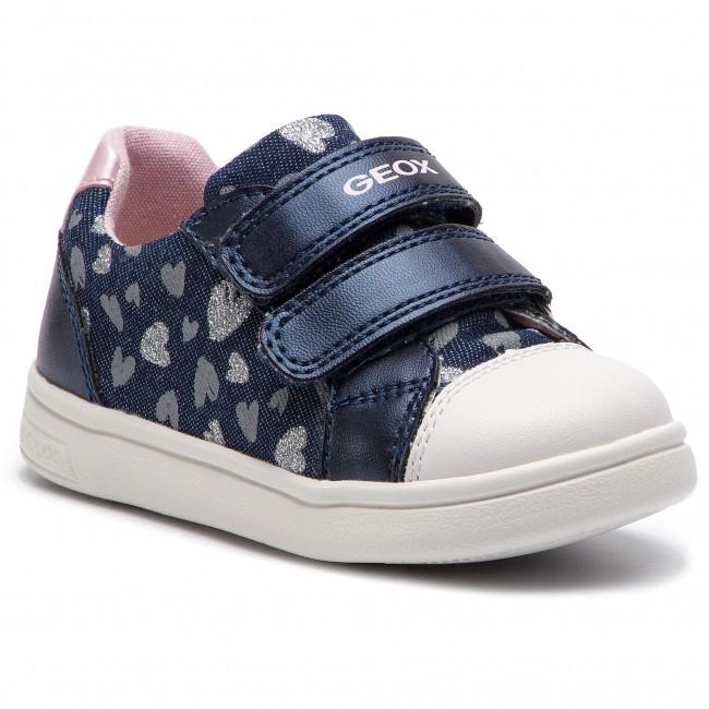 unverwechselbarer Stil super beliebt uk billig verkaufen Sneakers GEOX - B Djrock Girl E B921WE 0SBNF C4B8T M Avio/Lt Pink