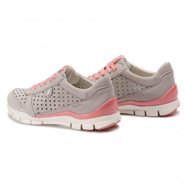 Sneakers GEOX D Sukie A D52F2A 022AU C1010 Lt Grey