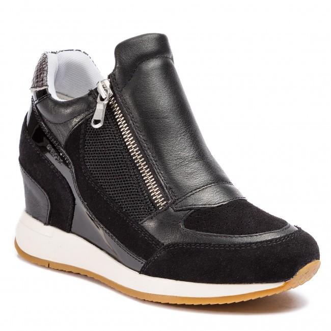 Sneakers GEOX D Nydame A D620QA 08522 C9997 Black XwJaz
