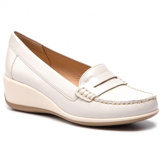 Shoes GEOX - D Arethea B D621SB 00043 C1002 Off White