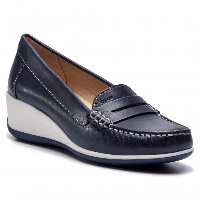 Geox Arethea Womens Navy Shoe