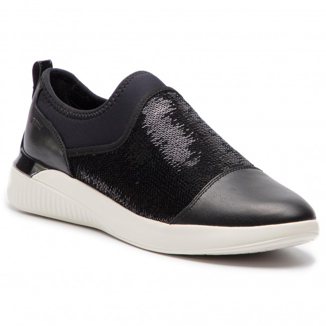 Colapso implícito televisor  Sneakers GEOX - D Theragon A D848SA 085AT C9999 Black - Sneakers - Low  shoes - Women's shoes | efootwear.eu
