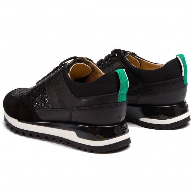 material seleccionado buscar original compre los más vendidos Sneakers GEOX - D Tabelya B D84AQB 085KY C9997 Black - Sneakers ...