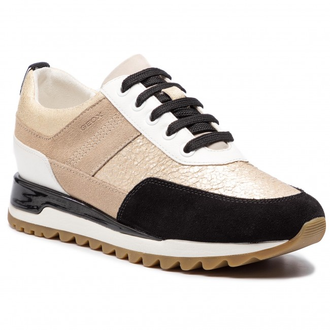 fábrica diversificado en envases para toda la familia Sneakers GEOX - D Tabelya B D84AQB 0KY22 C0950 Lt Gold/Black ...