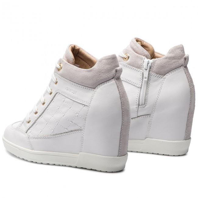 proteger Móvil Que  Sneakers GEOX - D Carum C D84ASC 08522 C1000 White - Sneakers - Low shoes -  Women's shoes | efootwear.eu
