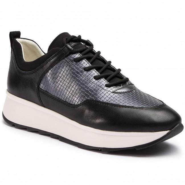Sneakers GEOX D Gendry B D925TB 085QU C9B1G BlackGun