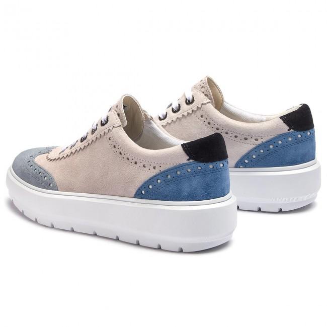 Geox Damen D Kaula F Sneaker