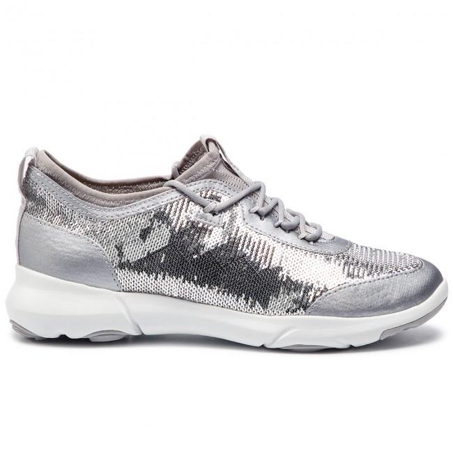 Shoes GEOX D Nebula X A D92BHA 000AT C1007 Silver