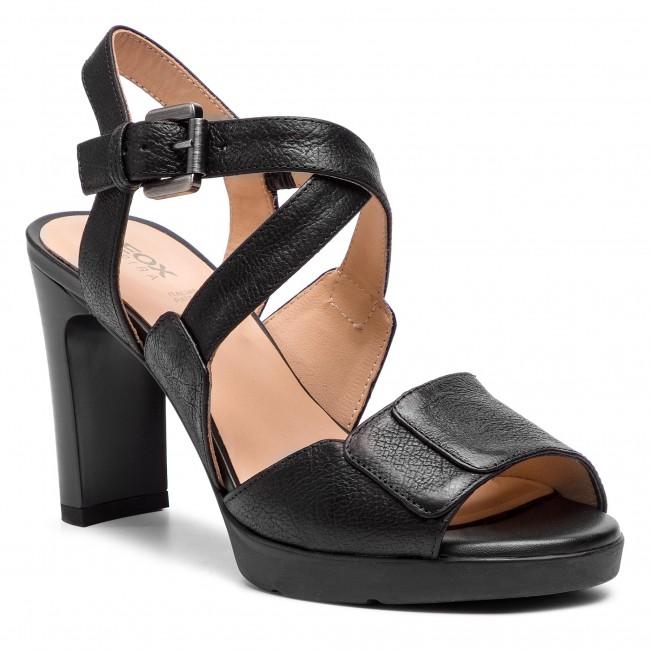 ahorrar 20165 83be9 Sandals GEOX - D Annya H.Sand B D92CLB 0009D C9999 Black
