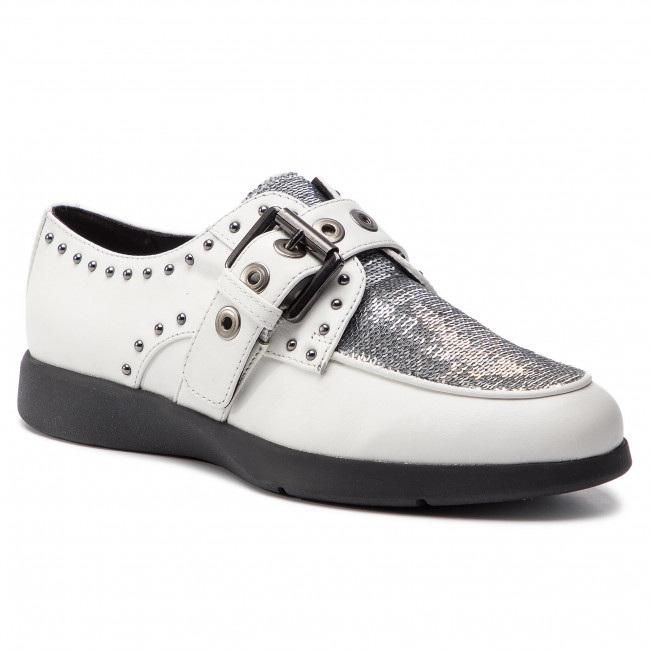 Shoes GEOX - D Arjola G D92DHG 043AY C0007 White/Silver