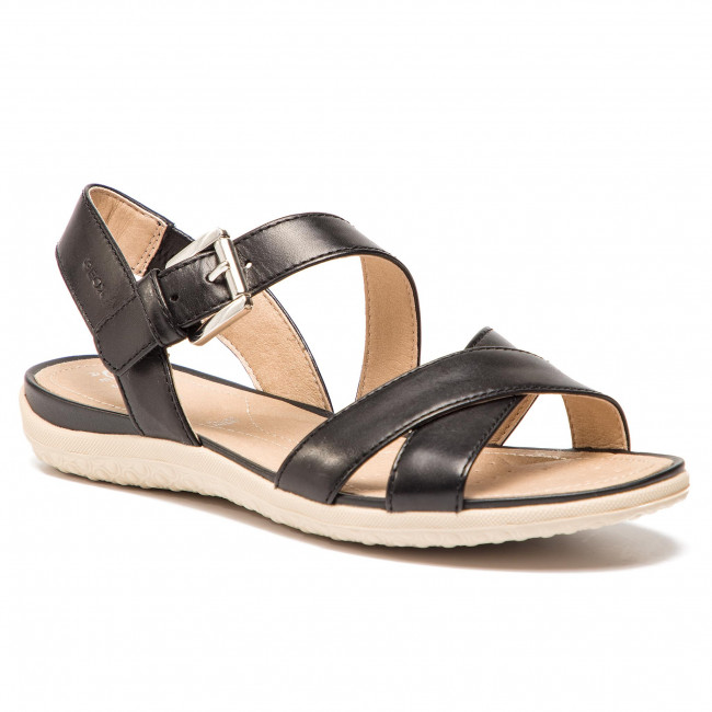 Sandals GEOX - D Sand.Vega E D92R6E 00043 C9999 Black