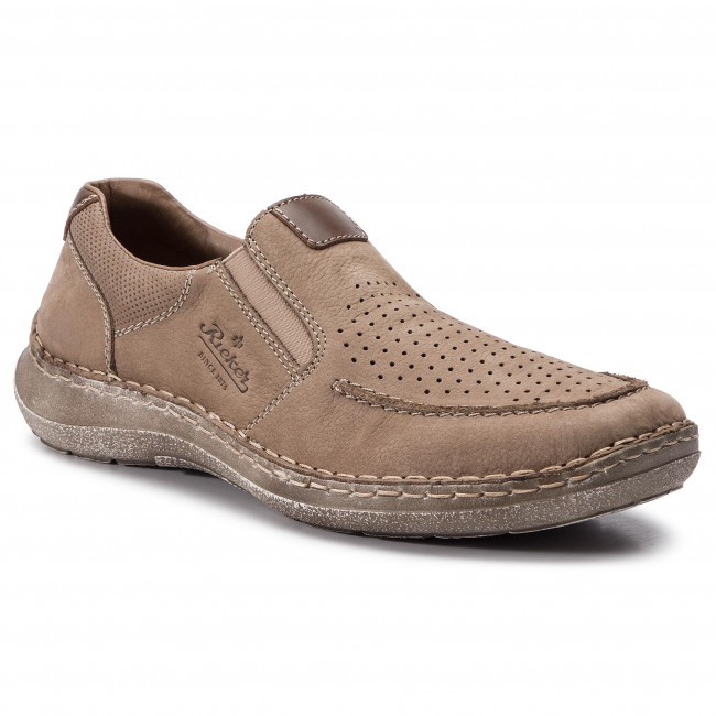 autumn shoes check out classic style Shoes RIEKER - 03067-21 Braun