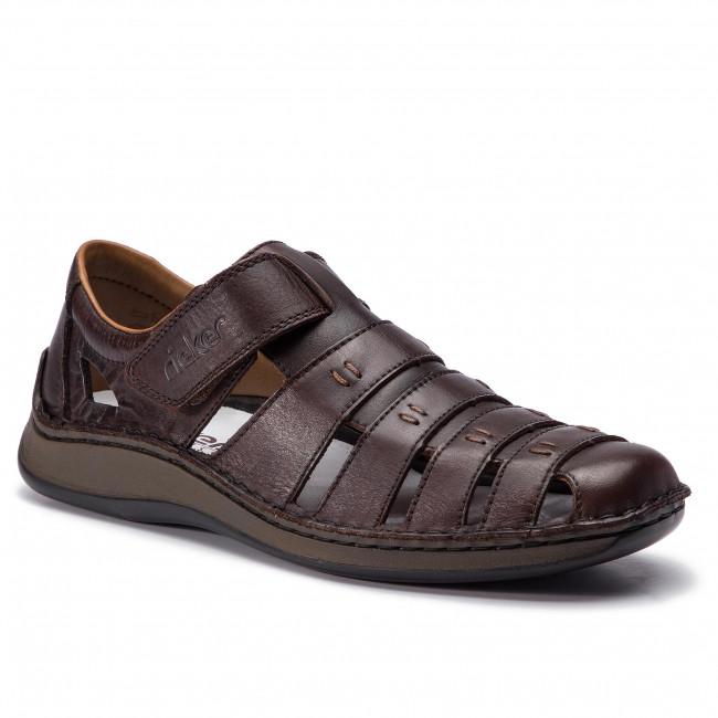 Sandals RIEKER - 05279-25 Braun