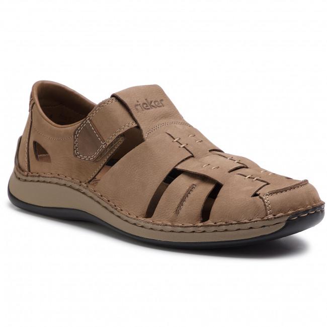 Sandals RIEKER 05285 20 Beige
