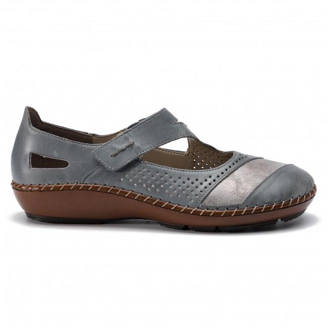 Shoes RIEKER 44866 12 Blau Flats Low shoes Women's