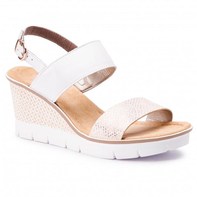 Sandals RIEKER - 68542-31 Rosa - Wedges