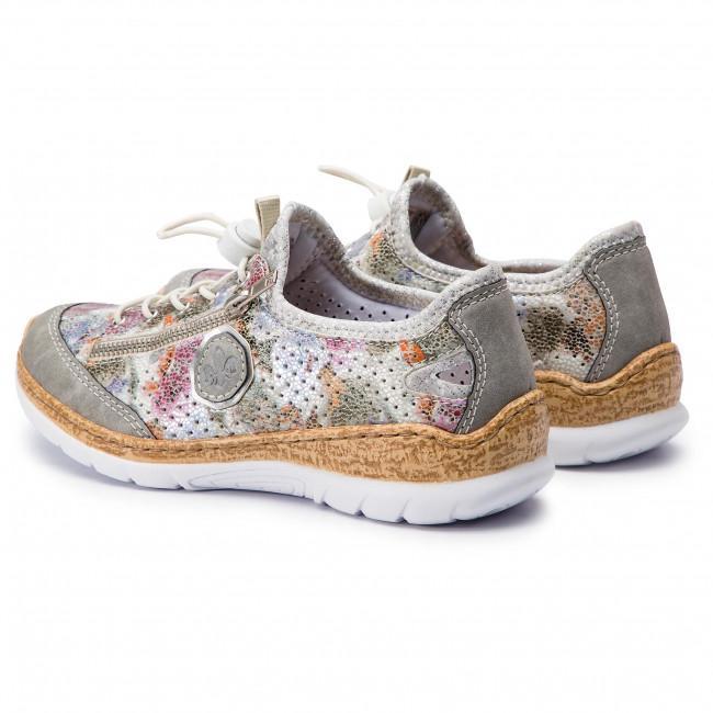 Shoes RIEKER N42V1 40 Multi Flats Low shoes Women's 0E5os
