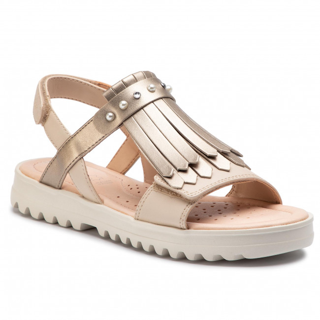 outlet exclusive shoes lowest price Sandals GEOX - J S.Coralie G. E J926EE 054AJ C0872 D Lt Beige/Gold