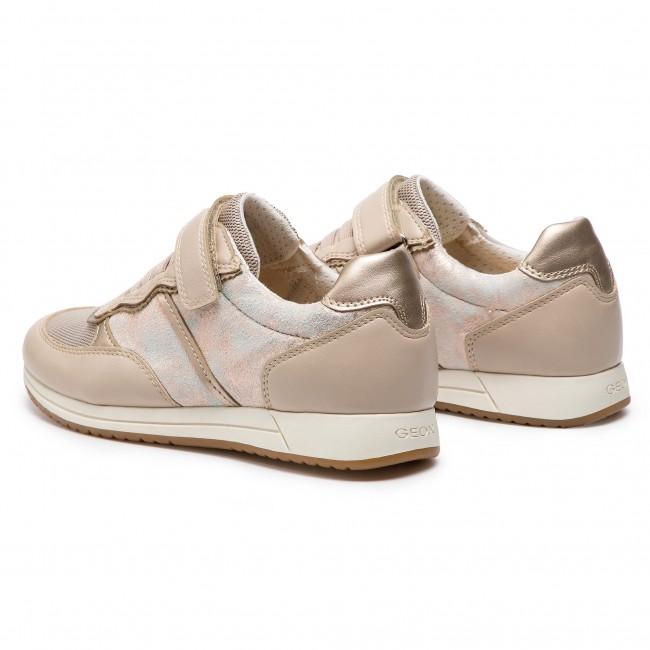Sneakers GEOX J Jensea G. A J926FA 0MABC C5000 S Beige