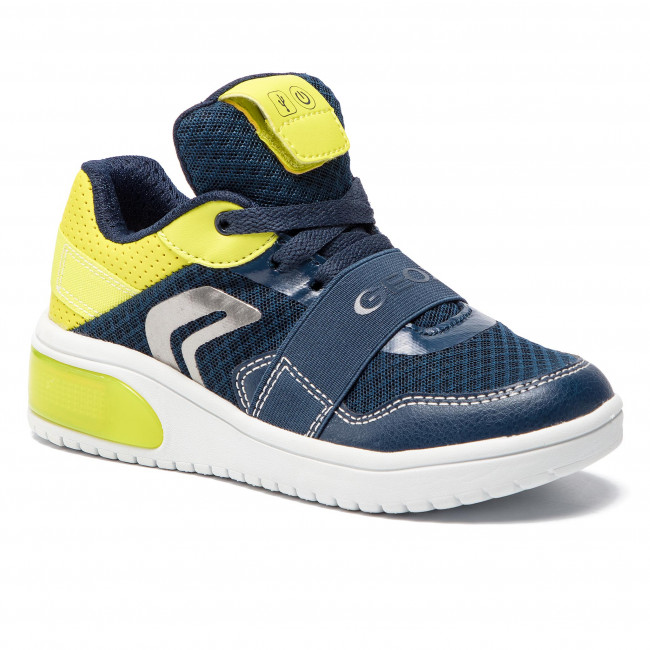 Sneakers GEOX - J Xled B. B J927QB 01454 C0749 S Navy/L:ime