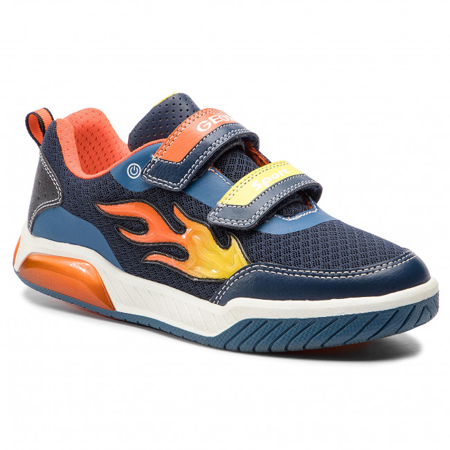 Sneakers GEOX - J Inek B. C J929CC 014BU C0659 DD Navy/Orange