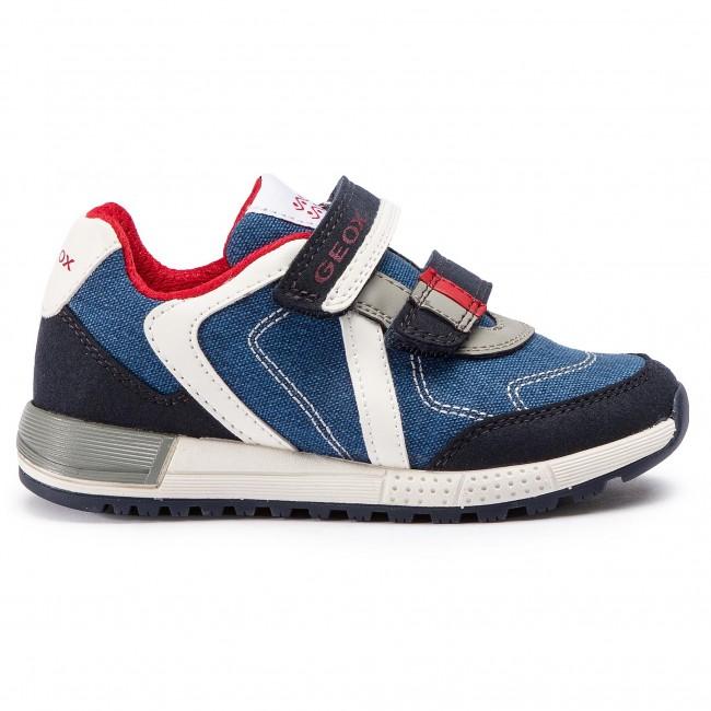 Sneakers GEOX J Alben B. B J929EB 010AF C0735 S NavyRed