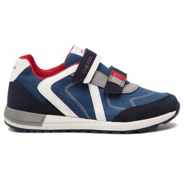 Sneakers GEOX J Alben B. B J929EB 010AF C0735 D NavyRed