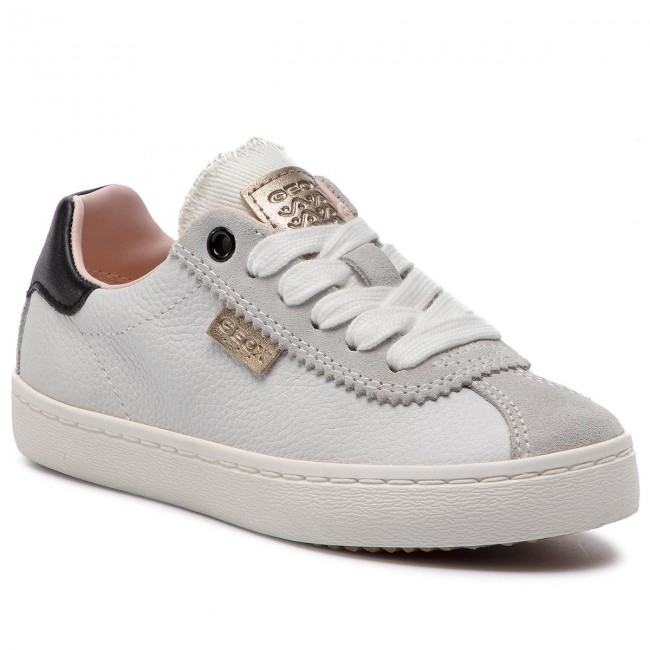 Sneakers GEOX J Kilwi G. A J92D5A 04622 C1000 S White