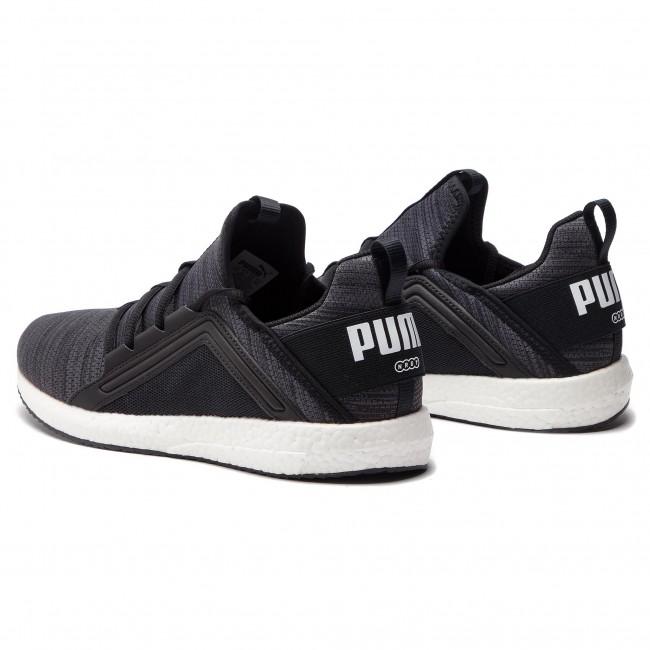 Shoes PUMA Mega Nrgy Heather Knit 191095 01 Puma BlackIron GateWhite