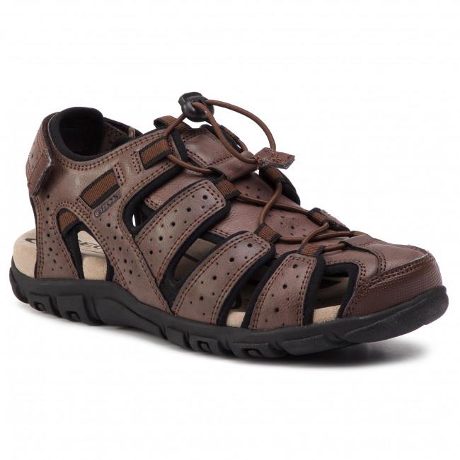 Sandals GEOX U S.Strada B U6224B 0MEBC C0013 Brown